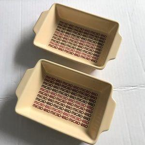 Micro-Pro Mini Dishes